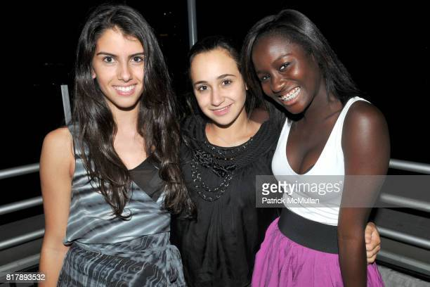 Rebecca Schlacter Rachel Blankfein and Vennesa Asare attend ASSOCIATION to BENEFIT CHILDREN Junior Committee Fundraiser at Gansevoort Hotel on...