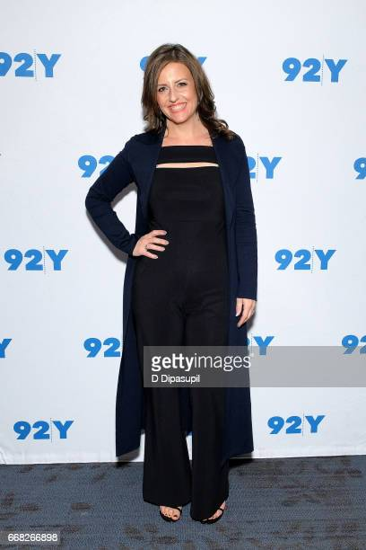 Rebecca Skloot visits the 92nd Street Y to discuss 'The Immortal Life of Henrietta Lacks' on April 13 2017 in New York City