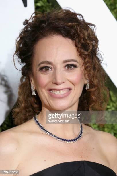 Rebecca Taichman attends the 71st Annual Tony Awards at Radio City Music Hall on June 11 2017 in New York City