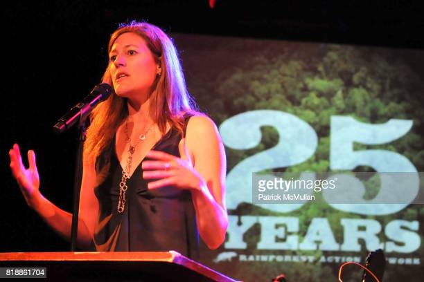 Rebecca Tarbotton attends RAINFOREST ACTION NETWORK's 25th Anniversary Benefit Hosted by CHRIS NOTH at Le Poisson Rouge on April 29 2010 in New York...