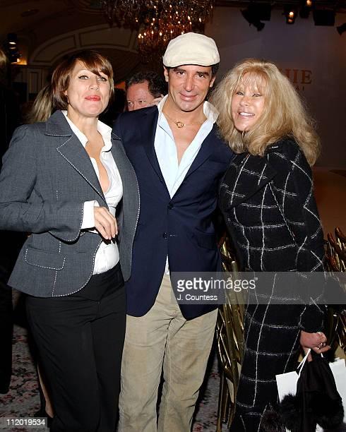 Rebecca Weinberg Lloyd Klein and Jocelyne Wildenstein