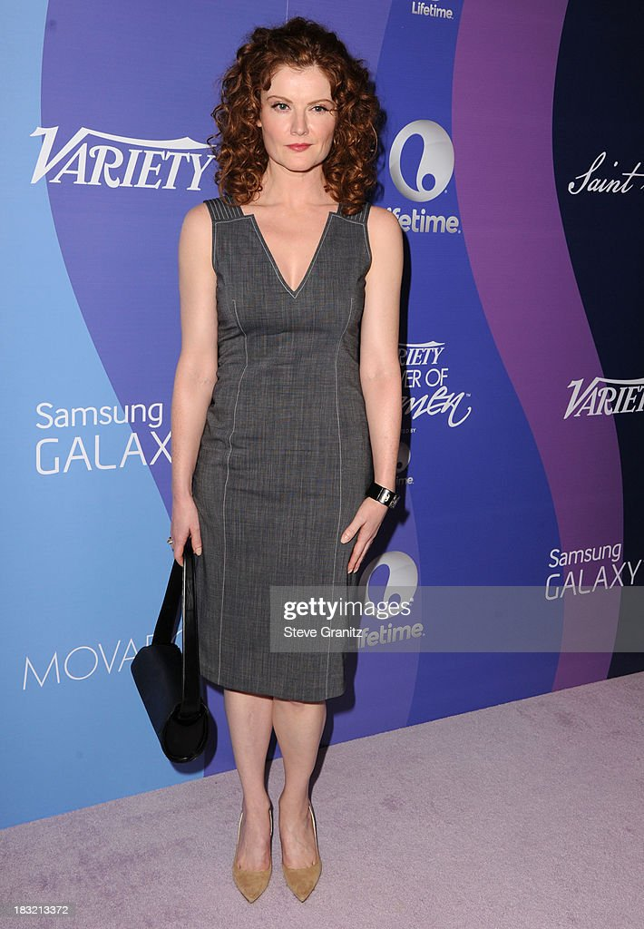 Rebecca Wisocky arrives at the Variety's 5th Annual Power Of Women Event at the Beverly Wilshire Four Seasons Hotel on October 4, 2013 in Beverly Hills, California.