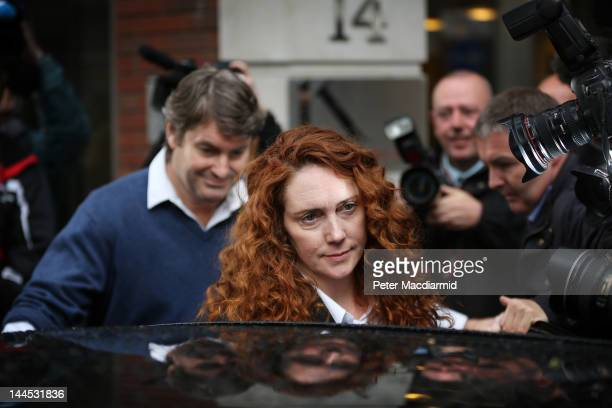 Rebekah Brooks and her husband Charlie Brooks leave her solicitors office on May 15 2012 in London England Mrs Brooks former editor of the News of...