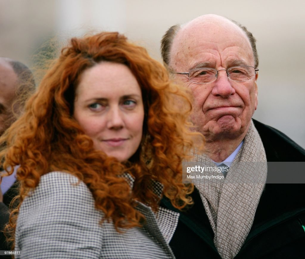 <a gi-track='captionPersonalityLinkClicked' href=/galleries/search?phrase=Rebekah+Brooks&family=editorial&specificpeople=6848116 ng-click='$event.stopPropagation()'>Rebekah Brooks</a> (formerly Wade) and <a gi-track='captionPersonalityLinkClicked' href=/galleries/search?phrase=Rupert+Murdoch&family=editorial&specificpeople=160571 ng-click='$event.stopPropagation()'>Rupert Murdoch</a> attend day 3 of the Cheltenham Horse Racing Festival on March 18, 2010 in Cheltenham, England.