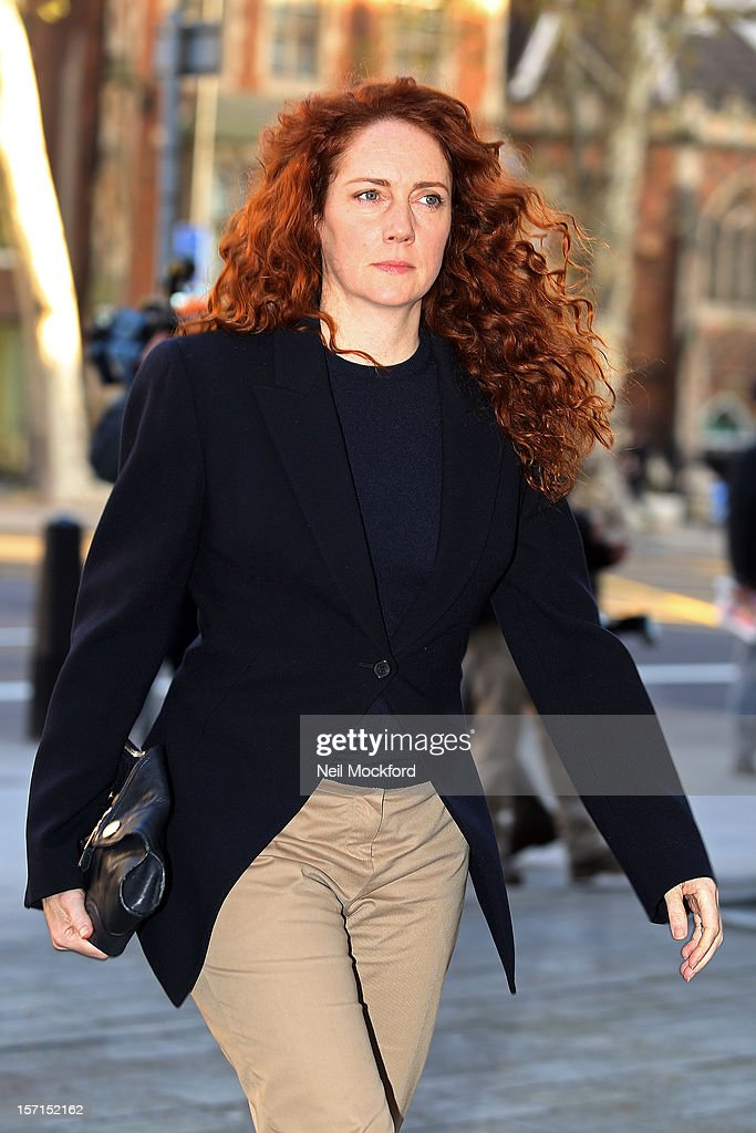 Rebekah Brooks arrives at court for court after a hearing for Operation Elvedon, an investigation into alleged corrupt payments to public officials, at The City of Westminster Magistrates Court on November 29, 2012 in London, England.