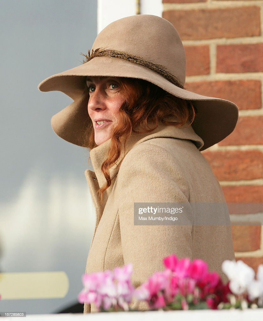 Rebekah Brooks attends the Hennessy Gold Cup at Newbury Racecourse on December 01, 2012 in Newbury, England.