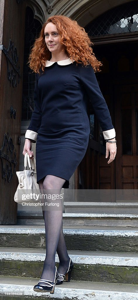Rebekah Brooks leaves the High Court after giving evidence to the Leveson Inquiry into press standards on May 11 2012 in London England Mrs Brooks...