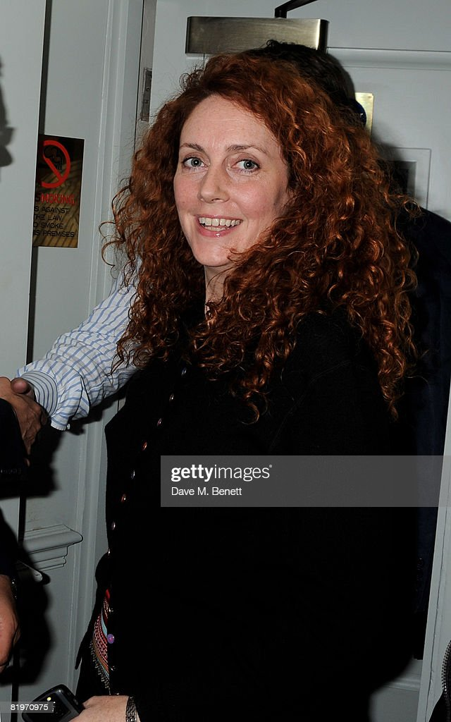 Rebekah Wade attends the book launch of 'Harm's Way' written by Celia Walden, at Soho House on July 17, 2008 in London, England.
