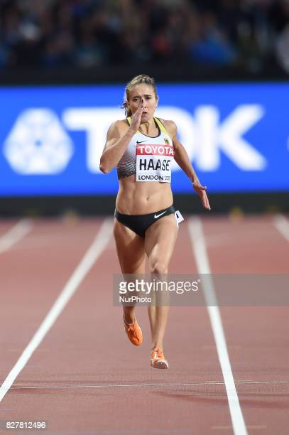 Rebekka HAASE Germany during 200 meter heats in London at the 2017 IAAF World Championships athletics on August 8 2017