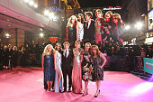 Rebel Wilson Alison Brie director Christian Ditter Dakota Johnson Leslie Mann and producer Dana Fox attend the UK Premiere of 'How To Be Single' at...