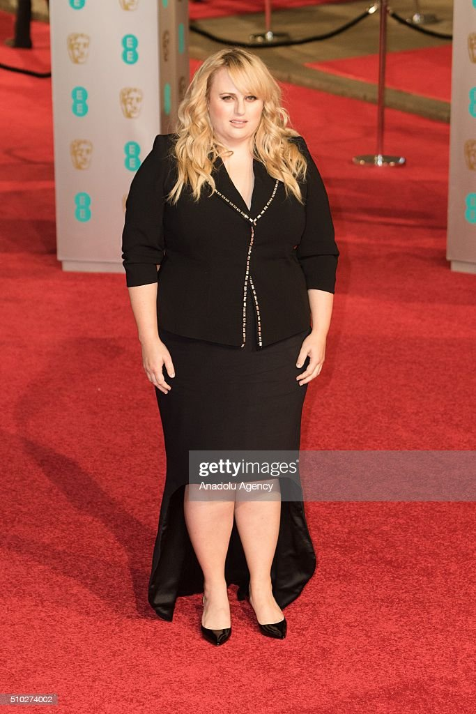 Rebel Wilson attends the EE British Academy Film Awards at The Royal Opera House on February 14, 2016 in London, England.