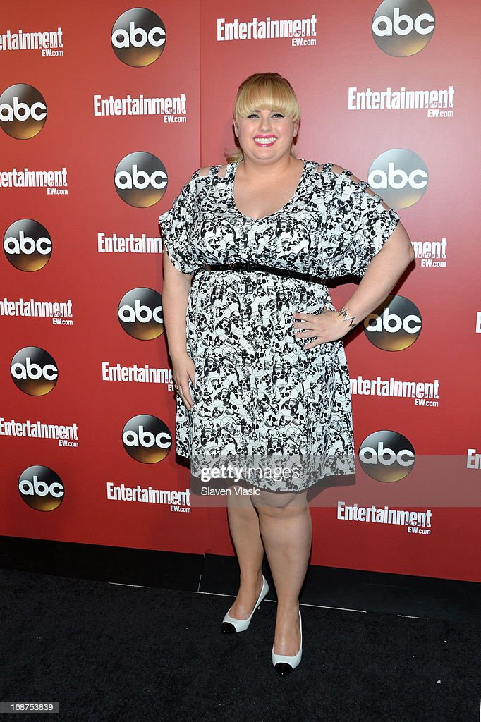 Rebel Wilson attends the Entertainment Weekly & ABC-TV Upfronts Party at The General on May 14, 2013 in New York City.