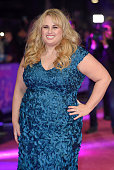 Rebel Wilson attends the European Premiere of 'How To Be Single' at the Vue West End on February 9 2016 in London United Kingdom