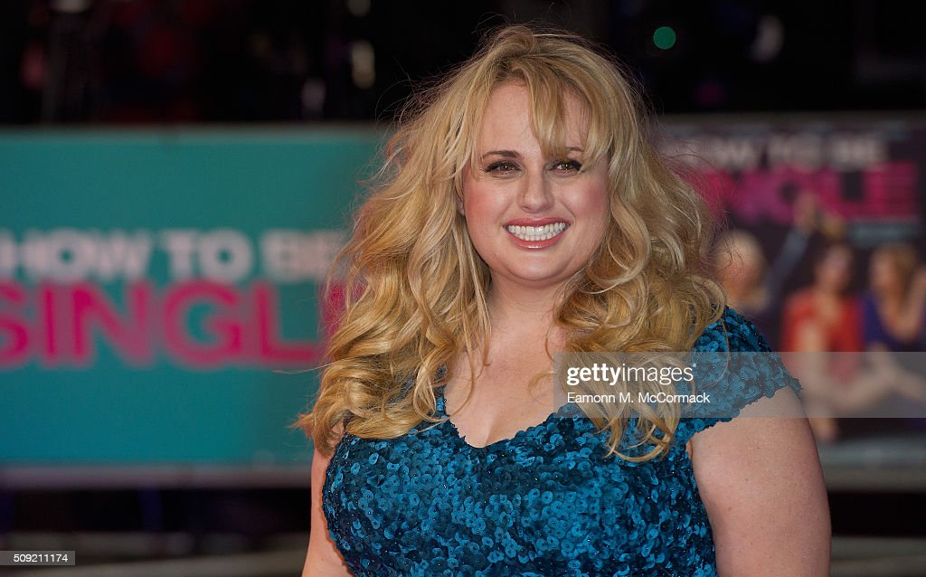 <a gi-track='captionPersonalityLinkClicked' href=/galleries/search?phrase=Rebel+Wilson&family=editorial&specificpeople=5563104 ng-click='$event.stopPropagation()'>Rebel Wilson</a> attends the European Premiere of 'How To Be Single' at Vue West End on February 9, 2016 in London, England.