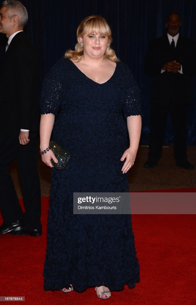Rebel Wilson attends the White House Correspondents' Association Dinner at the Washington Hilton on April 27, 2013 in Washington, DC.