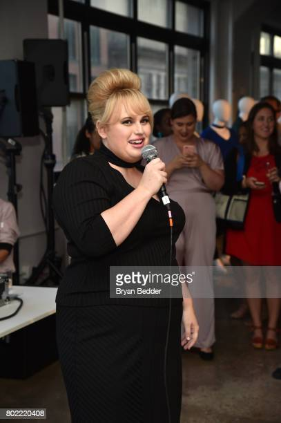 Rebel Wilson speaks at the REBEL WILSON X ANGELS Collection Launch Party at DiaCo on June 27 2017 in New York City