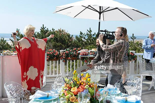 PAINS 'Rebound' Episode 701 Pictured Christine Ebersole as Mrs Newberg Kelly Miller as cameraman