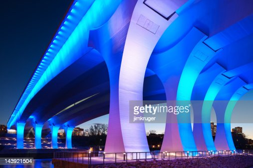 Rebuilt 35w bridge in Minneapolis, Minnesota.