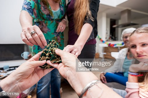 Receiving a gift
