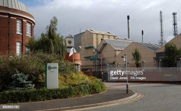 Recent file picture of the Rhodia chemical plant in Oldbury West Midlands which has tested positive for Legionnaires' disease it was revealed...