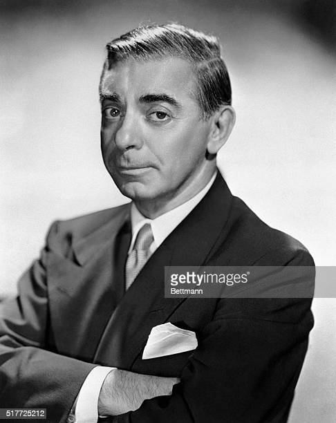 A recent portrait of Eddie Cantor who has been selected for the honored post of Chairman March of Dimes on the Air