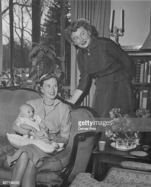 Recent visitors of Mrs David Twiggs Chalmers at her country club home were Mrs David Bay Chalmers and her infant son David of Oklahoma City Credit...