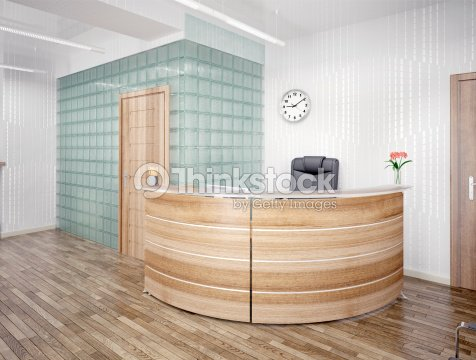 Rea de recepci n foto de stock thinkstock for Banco reception economico
