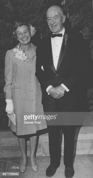 Reception Bound from Wedding Mr and Mrs Stanley H Johnson leave St Martin's Chapel following the evening wedding of their son Norman Dart Johnson to...