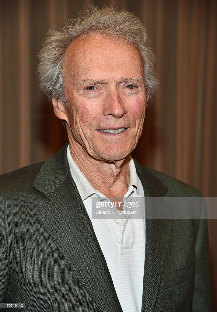 "Recipient of the Fandango Fan Choice award for Favorite Film of 2014, 'American Sniper,' <a gi-track='captionPersonalityLinkClicked' href=/galleries/search?phrase=Clint+Eastwood&family=editorial&specificpeople=201795 ng-click='$event.stopPropagation()'>Clint Eastwood</a> attends CinemaCon and Warner Bros. Pictures Present ""The Legend of Cinema Luncheon: A Salute to <a gi-track='captionPersonalityLinkClicked' href=/galleries/search?phrase=Clint+Eastwood&family=editorial&specificpeople=201795 ng-click='$event.stopPropagation()'>Clint Eastwood</a>"" at Caesars Palace during CinemaCon, the official convention of the National Association of Theatre Owners, on April 22, 2015 in Las Vegas, Nevada."
