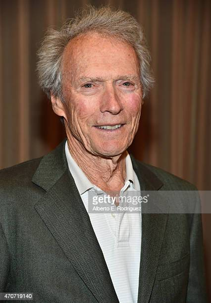 Recipient of the Fandango Fan Choice award for Favorite Film of 2014 'American Sniper' Clint Eastwood attends CinemaCon and Warner Bros Pictures...