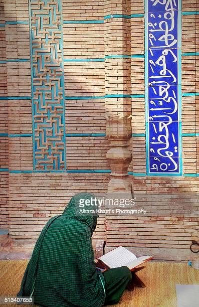 Reciting Holy Qur'an