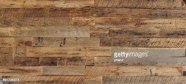 reclaimed wood Wall Paneling texture : Stock Photo