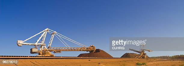 Reclaimer an Stacker on Pilbara  Mine Site