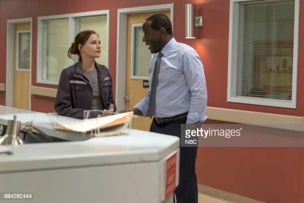 SHIFT 'Recoil' Episode 401 Pictured Jill Flint as Jordan Alexander James McDaniel as Julian Cummings