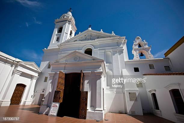 La Recoleta iglesia de Nuestra señora del Pilar en Buenos Aires