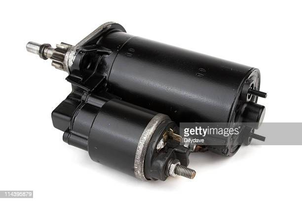 Reconditioned Car Starter Motor Rear View