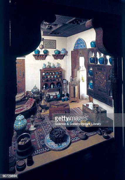 Reconstruction in the Wellcome Building at 183 Euston Road London The structures fittings and contents are all of Arab workmanship as it existed some...