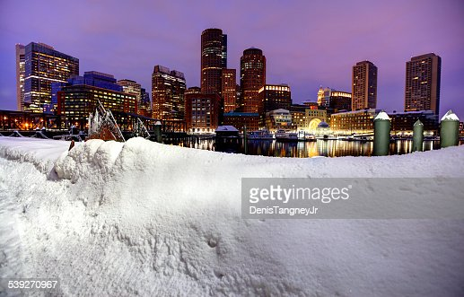 Battre un Record Boston Blizzard 2015. Snowiest hiver dans l'histoire de Boston