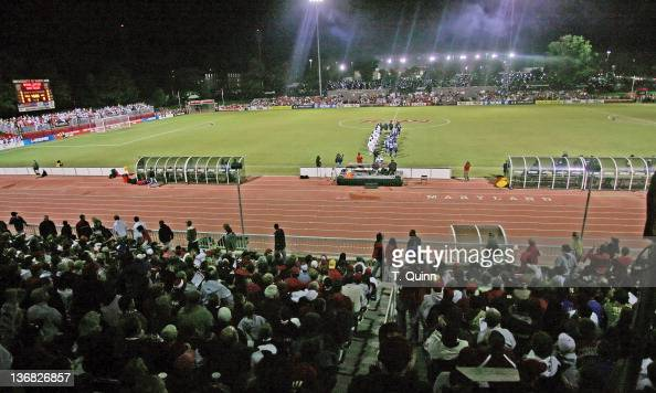 A record crowd of 6489 on hand for the match A standing room only sold out crowd at Ludwig Field on the campus of the University of Maryland at...