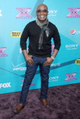 Record executive Antonio 'LA' Reid arrives at FOX's 'The X Factor' finalists party at The Bazaar at the SLS Hotel Beverly Hills on November 5 2012 in...