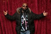 Record executive Jermaine Dupri visits the SiriusXM Studios on April 4 2014 in New York City