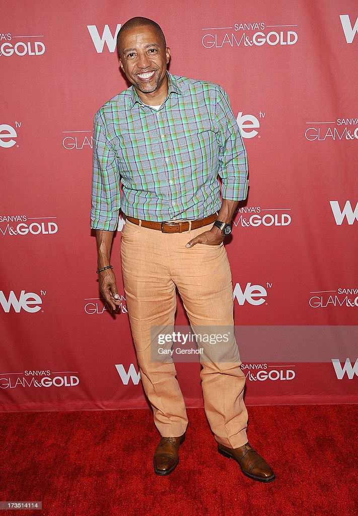 Record executive <a gi-track='captionPersonalityLinkClicked' href=/galleries/search?phrase=Kevin+Liles&family=editorial&specificpeople=236082 ng-click='$event.stopPropagation()'>Kevin Liles</a> attends 'Sanya's Glam And Gold' Series Premiere at Gansevoort Hotel on July 15, 2013 in New York City.