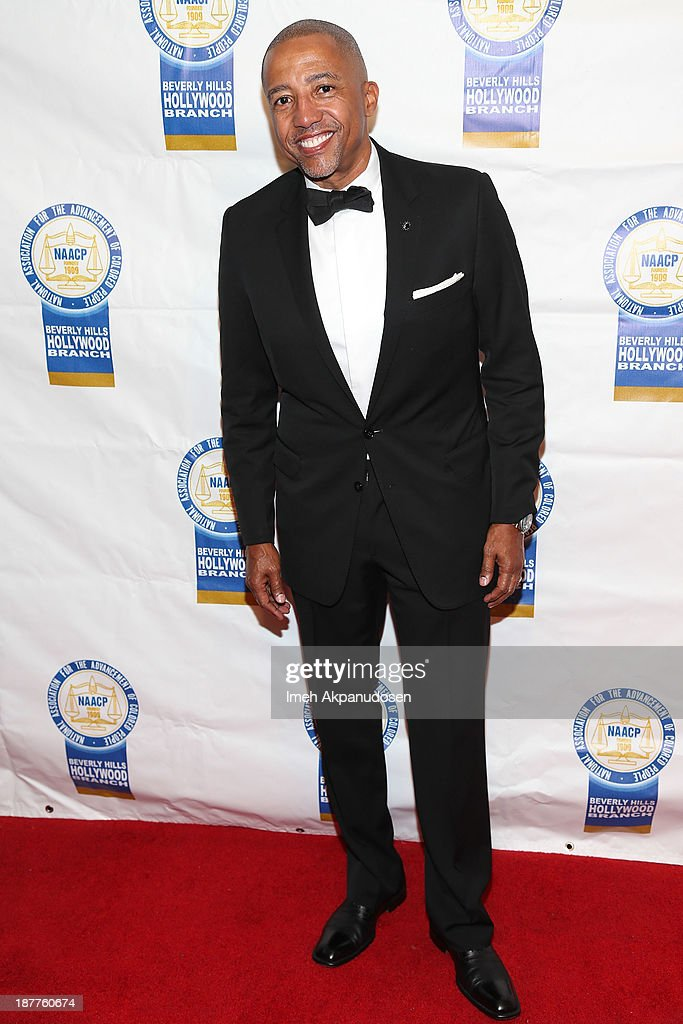 Record executive <a gi-track='captionPersonalityLinkClicked' href=/galleries/search?phrase=Kevin+Liles&family=editorial&specificpeople=236082 ng-click='$event.stopPropagation()'>Kevin Liles</a> attends the 23rd Annual NAACP Theatre Awards at Saban Theatre on November 11, 2013 in Beverly Hills, California.