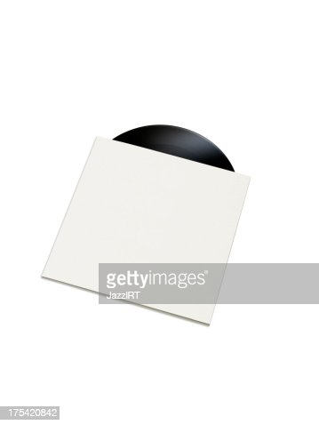 Record in a empty cover (Objects with clipping paths)