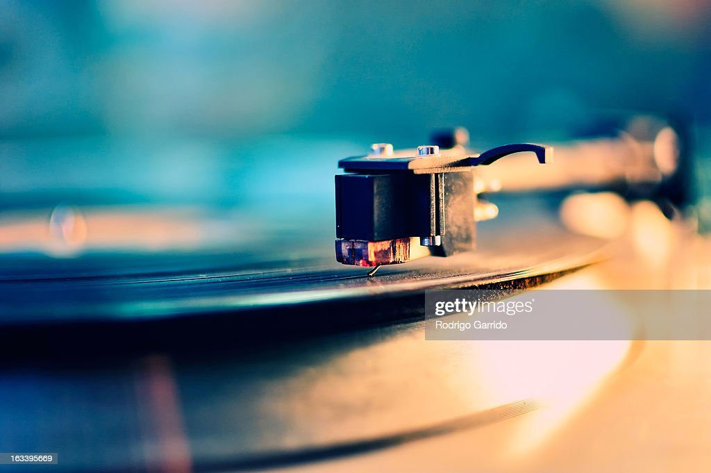 Record Player : Stock Photo