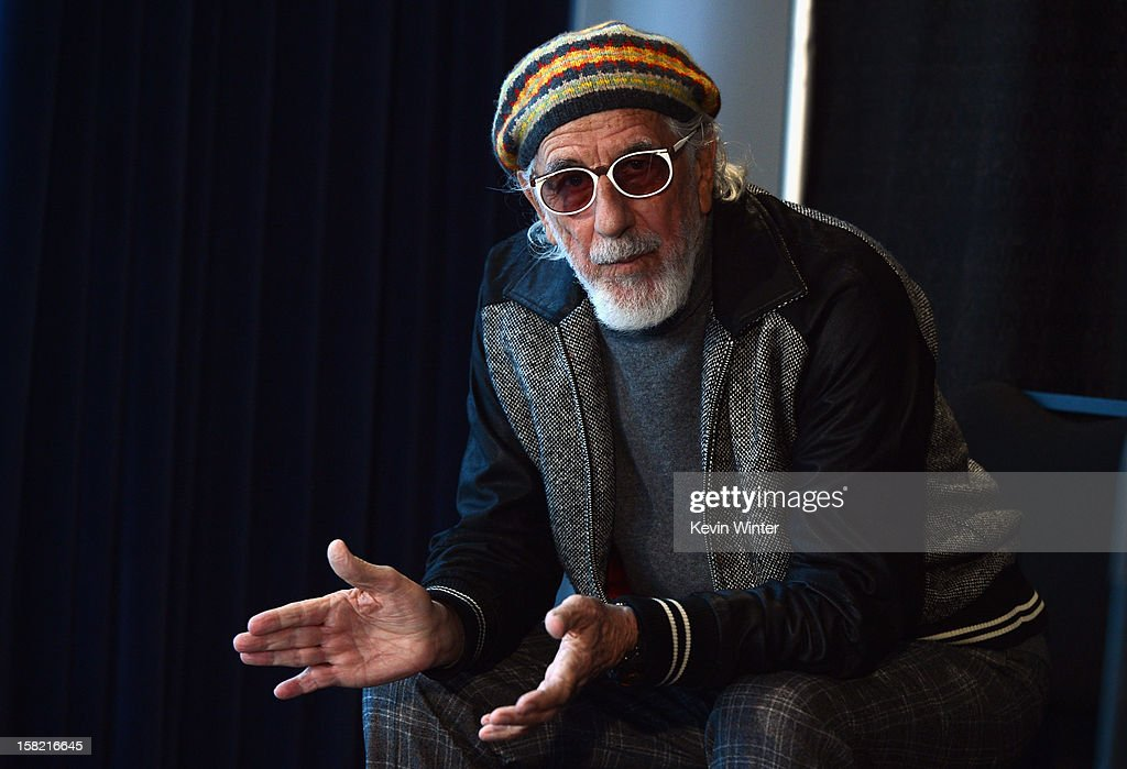 Record producer and Ahmet Ertegun Award recipient Lou Adler attends the press conference for the Rock and Roll Hall of Fame 2013 Inductees announcement at Nokia Theatre L.A. Live on December 11, 2012 in Los Angeles, California.