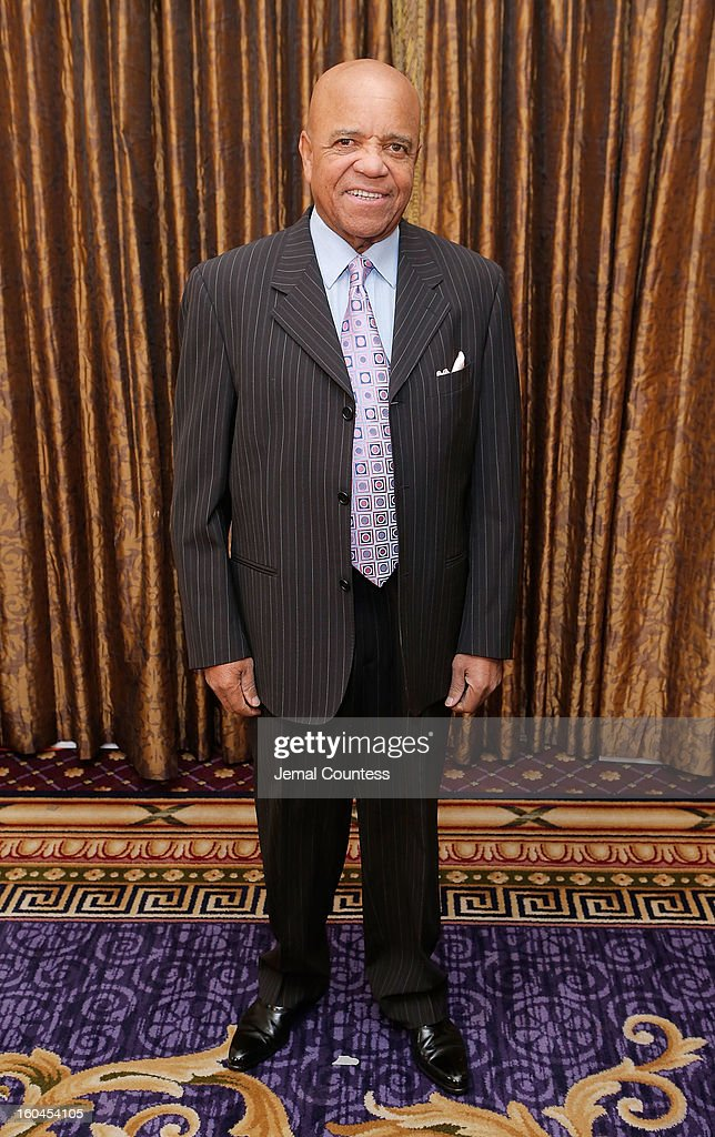 Record producer and founder of Motown Records Berry Gordy attends The 16th Annual Wall Street Project Economic Summit - Day 1 at The Roosevelt Hotel on January 31, 2013 in New York City.
