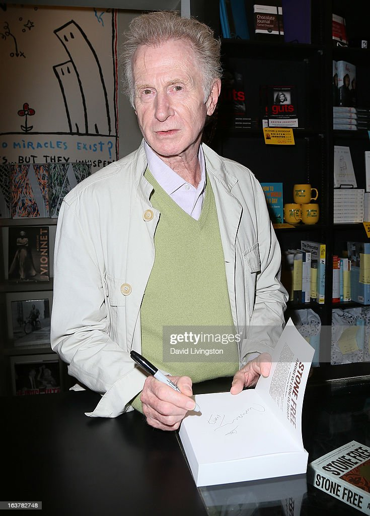 Record producer Andrew Loog Oldham attends a signing for his book 'Stone Free' at Book Soup on March 15, 2013 in West Hollywood, California.