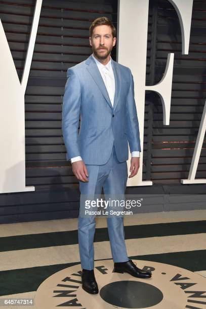 Record producer Calvin Harris attends the 2017 Vanity Fair Oscar Party hosted by Graydon Carter at Wallis Annenberg Center for the Performing Arts on...