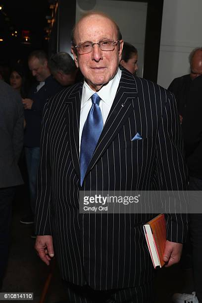 Record Producer Clive Davis attends as Alice Cooper Shep Gordon and Shinola celebrate the release of Gordons Memoir 'They Call Me Supermensch' on...